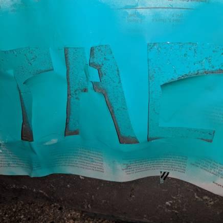 Used TAC Grafitti Stencil 2018